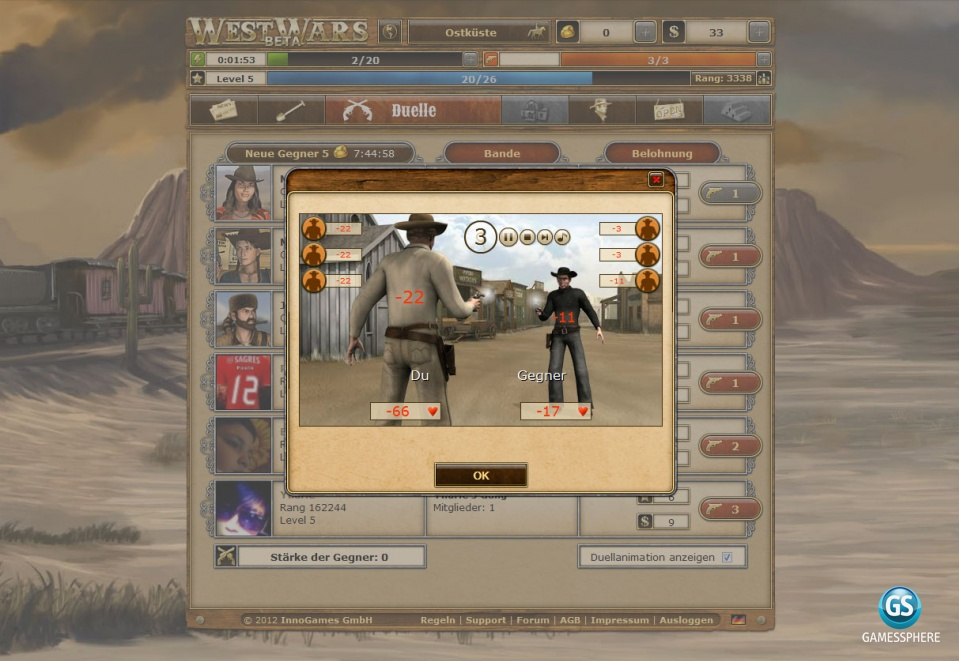 WestWars Screenshot
